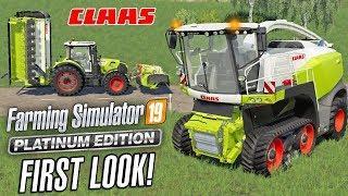 Farming Simulator 19 PLATINUM EDITION   First Look Gameplay
