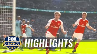 Arsenal vs. Manchester City | 2016-17 FA Cup Highlights