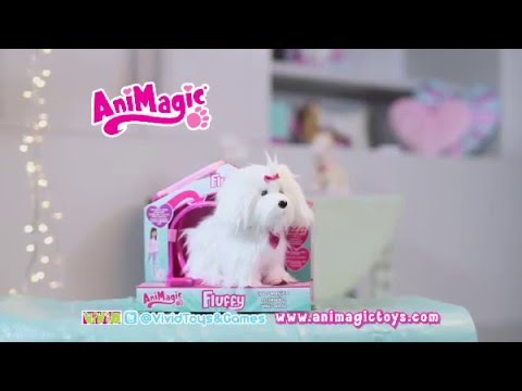Animagic Fluffy Goes Walkies TV 2015