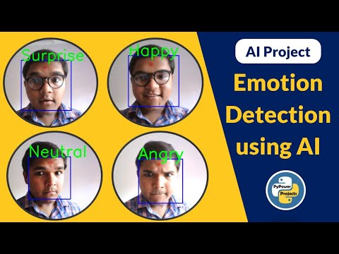 Emotion Detection using AI   PyPower Projects