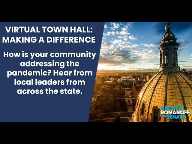 Virtual Town Hall: Making a Difference