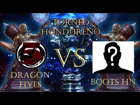 Torneo Hondureño Dragon Five VS Boot hn
