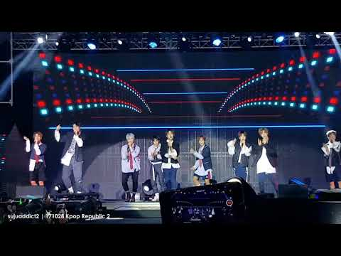 [FANCAM] 171028 Kpop Republic 2 | NCT 127 - 0 Mile