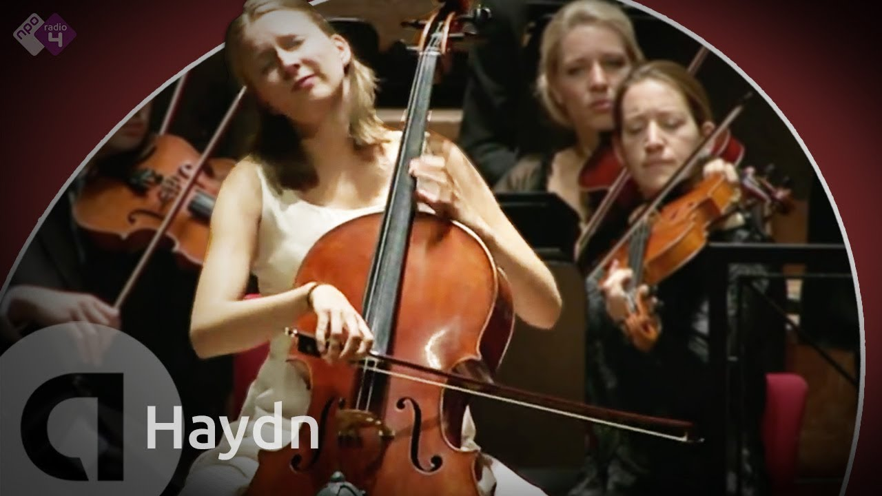 Joseph Haydn: Celloconcert in C - Marie-Elisabeth Hecker & Radio Kamer Filharmonie [HD]