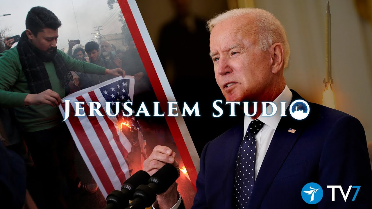 U.S. Mideast strategic interests and challenges – Jerusalem Studio 601