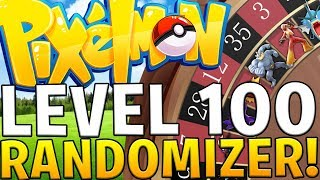 OVERPOWERED SHINY LVL 100 POKEMON RANDOMIZER CHALLENGE - MODDED MINECRAFT (PIXELMON)