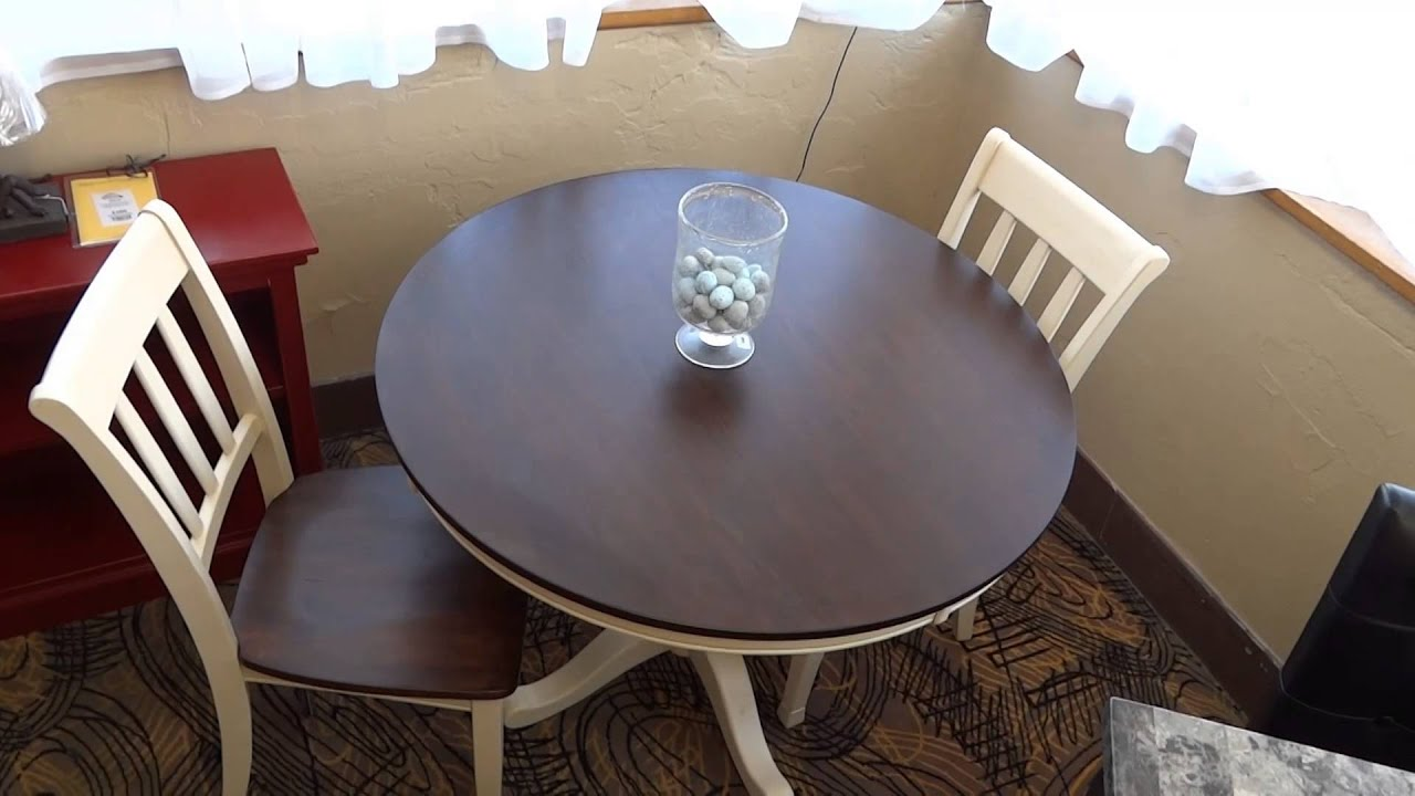 Ashley furniture whitesburg dining table set d583 review for Kitchen set from the 90 s