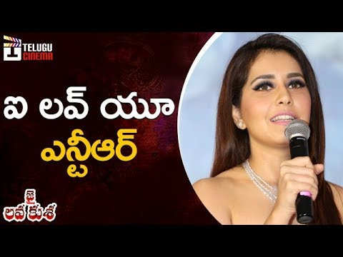 Rashi Khanna Excellent Speech | Jai Lava...