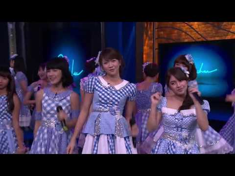 JKT48 -  Gingham Check ( Live at Sarah Sechan )
