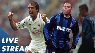Inter v Fiorentina 1997 | Ronaldo v Batistuta! | LIVE ARCHIVE MATCH! | Serie A