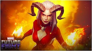 NETMARBLE EMPLOYEE CONFIRMED (SATANA UNIFORM) - Marvel Future Fight
