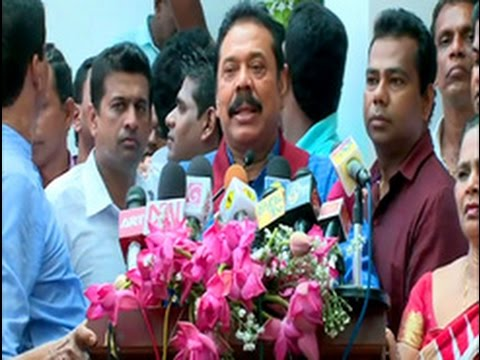 Mahinda Rajapaksa opens new political and public relations office