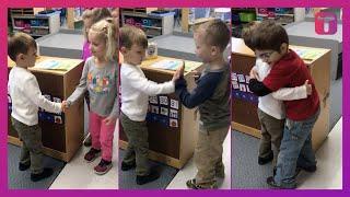Kids Choose Own Greeting To Start School Day