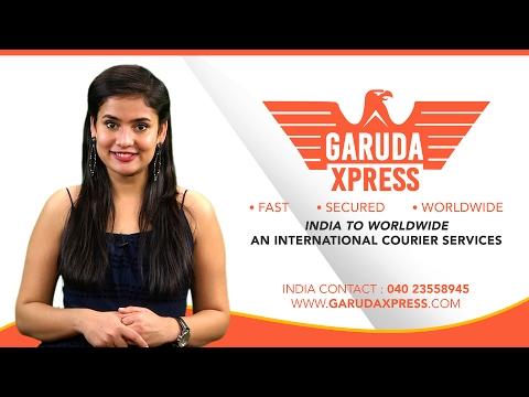 విదేశాల్లో ఉన్న మీ ఆప్తులకు పార్శిల్ పంపాలా? GARUDA XPRESS   AN INTERNATIONAL COURIER SERVICES