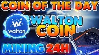 Walton Coin mining for 24hrs GTX1050TI 4gb