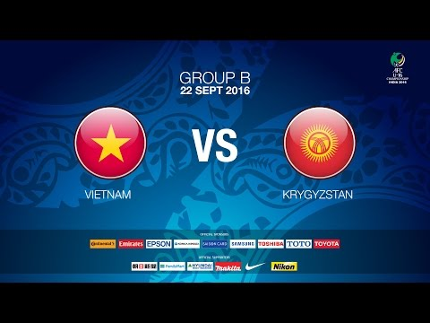 #AFCU16 M20 Vietnam vs Kyrgyzstan (Group B) News Report