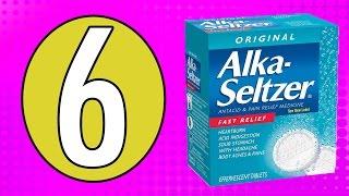 Alka Seltzer'ın Bilmediğiniz 6 Farklı Kullanım Şekli