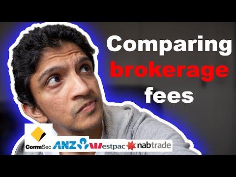 Brokerage Fees: CommSec Vs NAB Trade Vs ANZ Etrade Vs Westpac Trade