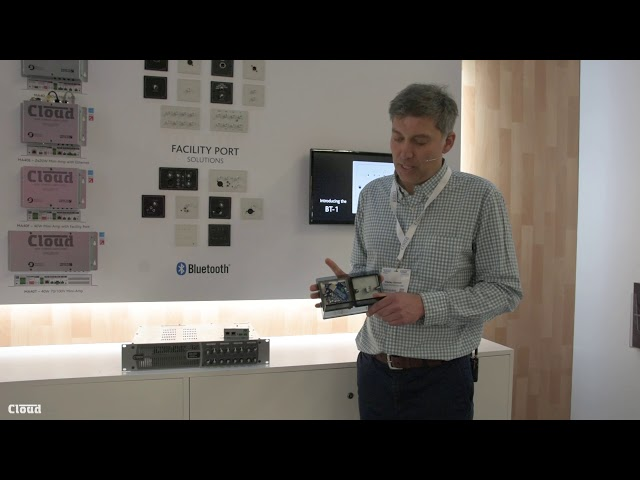 BT-1 Bluetooth Wall Plates from Cloud - ISE 2019