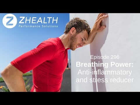 Breathing Power: Anti-inflammatory and stress reducer
