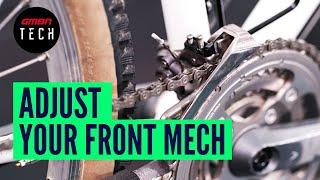 How To Adjust A Fr๐nt Derailleur   Setup & Adjust Bike Gears
