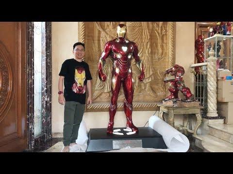 Unboxing Rp 150 Million (USD 11K) Life-Size Iron Man Mark 50