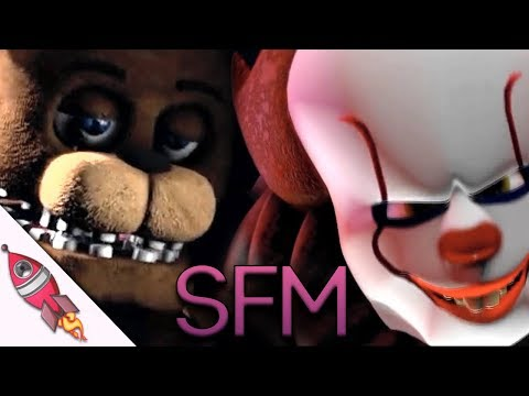 [SFM] IT vs Five Nights At Freddy's | Pennywise vs Freddy | Rockit Gaming