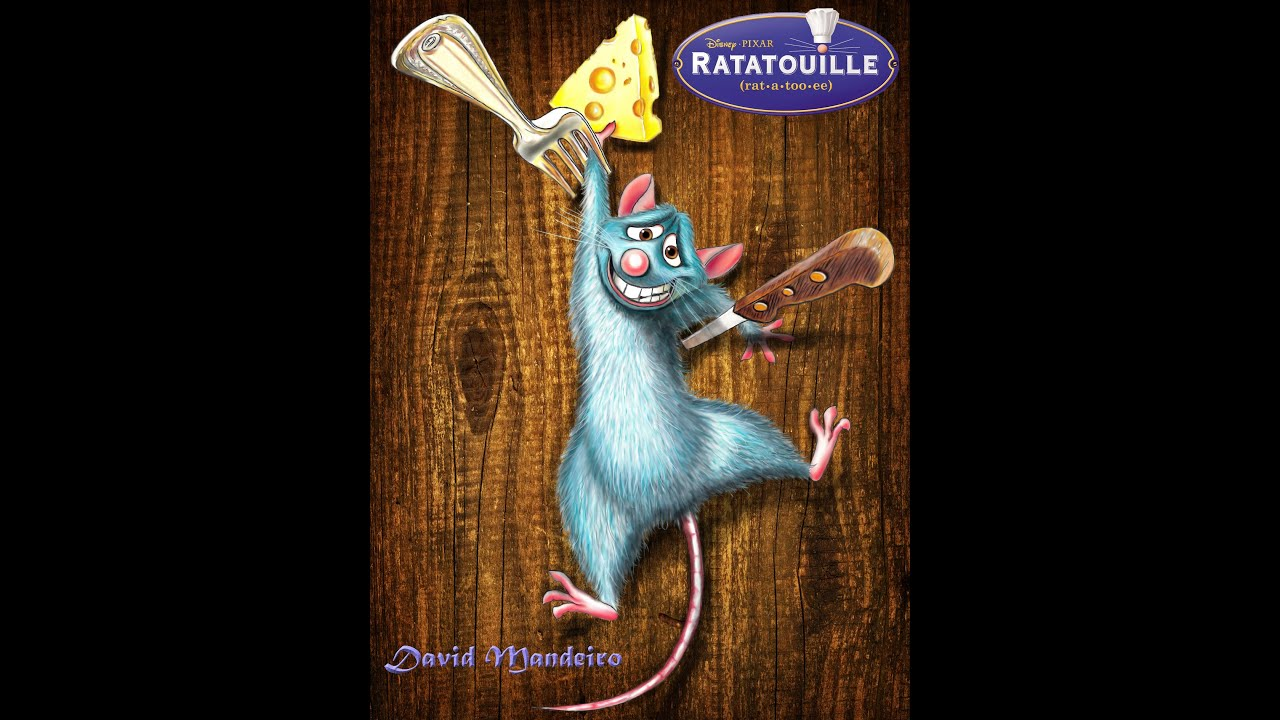 How To Draw Remy From Ratatouille Youtube