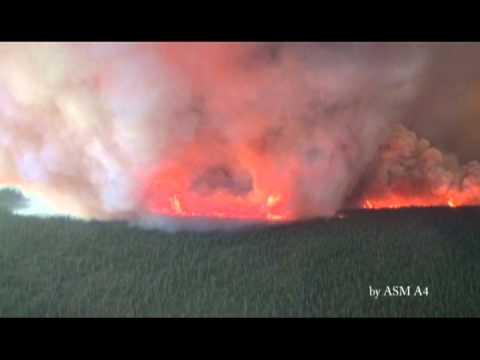 Extreme Fire Behavior on the Tetlin Junction Ridge Fire (#414) on 8/16/13
