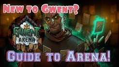 GWENT: Beginner's guide to ARENA! Example draft AND match!
