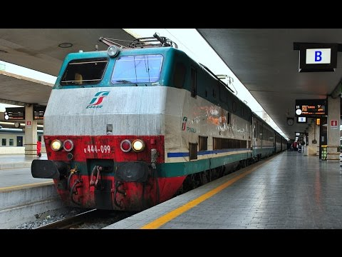 Full Journey from Roma to Fiumicino (FCO) on the Trenitalia Train