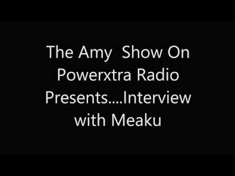 Interview with Nigerian/American Artist Meaku ...( Interview, Radio, Music)