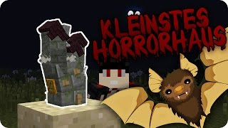 Mikro Haunted House mit Jump Scares in Minecraft! - Zwei Commands! | Pezcraft
