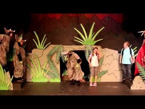 Dinosaurs Before Dark, NOVA Theater, Cast A