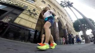 Los Angeles Marathon 2017 Morning Run
