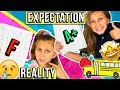 SCHOOL DAY ROUTINE: Expectation VS Reality!!! Back to school
