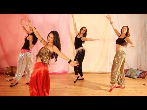 HIP BOX BELLY DANCE MOVEMENT AND WALKING