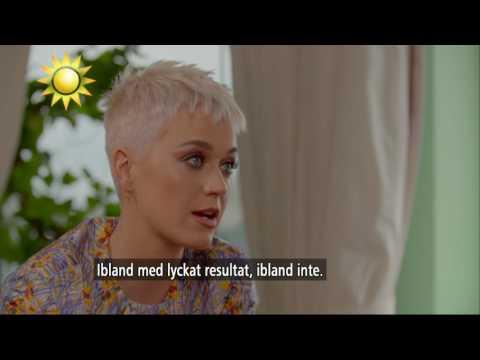 Katy Perry om kopplingarna till Sverige - därför älskar hon svenskar - Nyhetsmorgon (TV4)