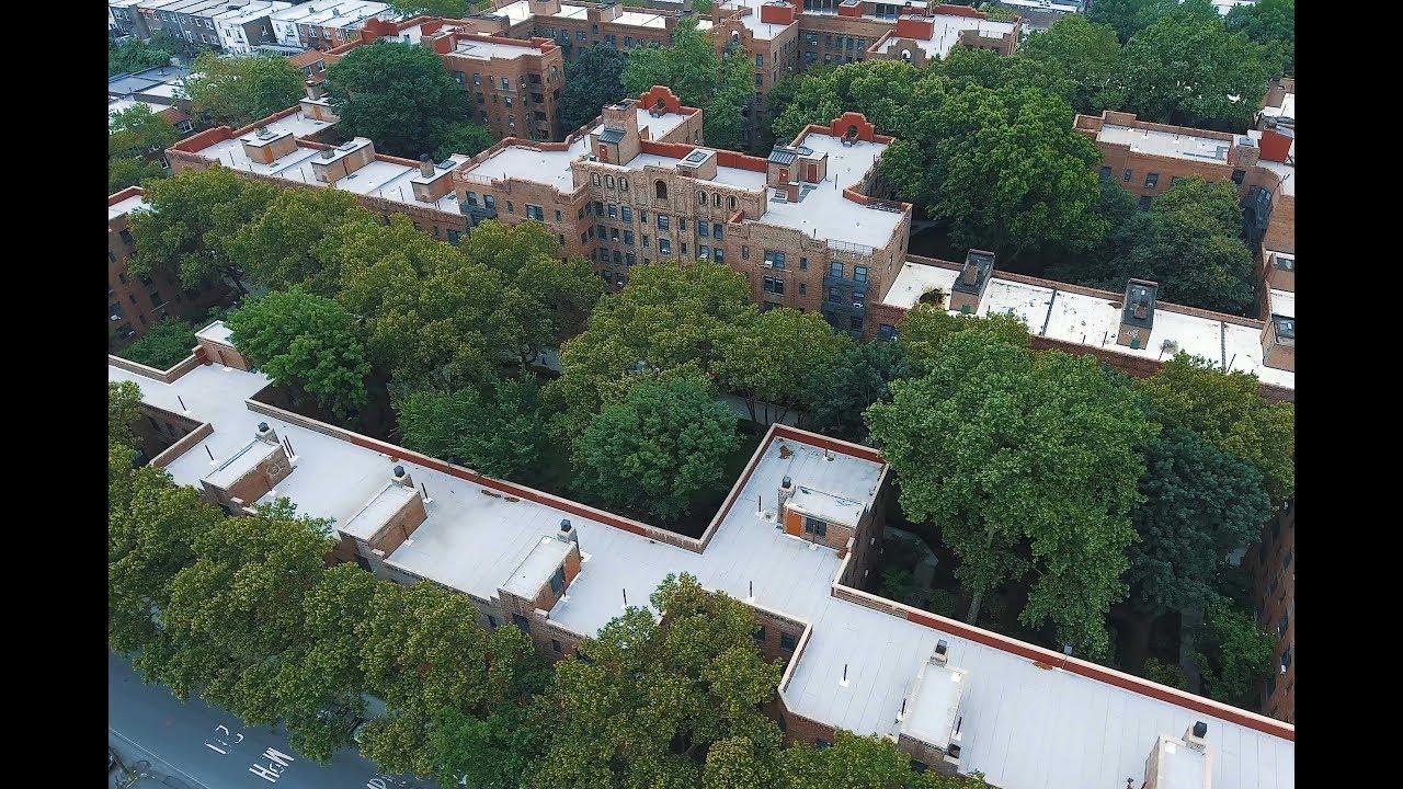 Phipps Garden Apartments New York Phantom 4 Drone 4k