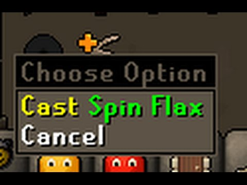 """Testing new spell """"Spin Flax"""""""