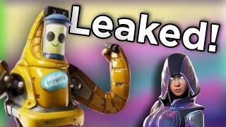 Fortnite - NEW Leaked Note 10 Infinity (DaVinci) Skin and Mech Peely Skins!