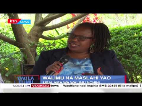 Walimu na maslahi yao: Usalama wa walimu nchini  | Dau la Elimu