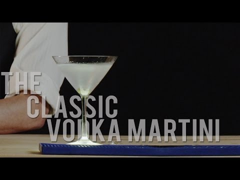 How to Make The Classic Vodka Martini - Best Drink Recipes