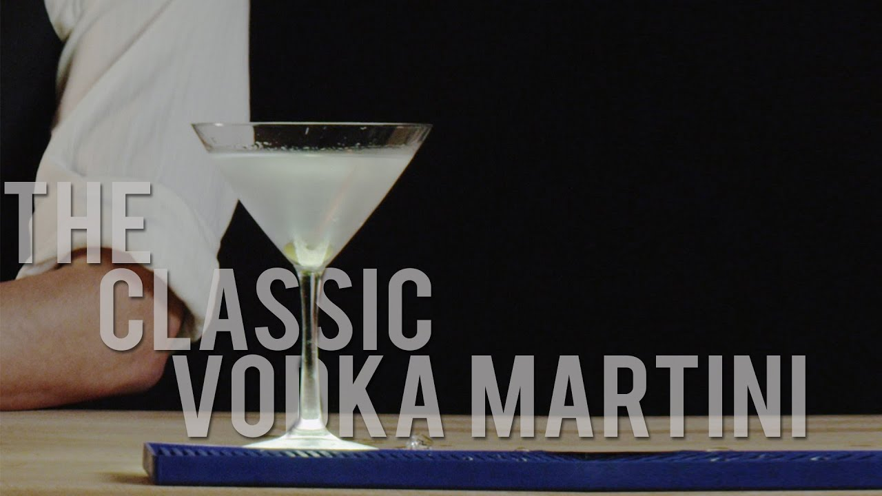 How to make the classic vodka martini best drink recipes youtube sisterspd