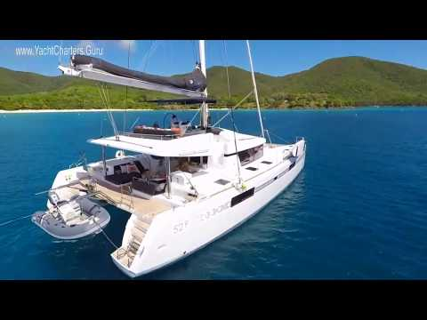 Catamaran Stop Work Order- 2017 Lagoon 52' Crewed Yacht Charters in the Virgin Islands