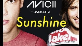Avicii Vs. David Guetta - Sunshine (New Generation & Spectrum)