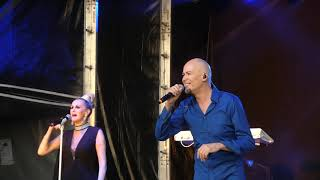 The Human League - Being Boiled & Electric Dreams (Live) After Racing at Bath Racecourse 2019