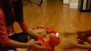 Crazy Tickle-Me-Elmo!!!!