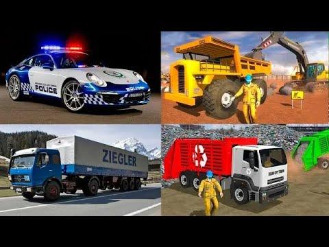 Мультфильмы про транспорт для детей - Полицейская Скорая помощь. Мультик пазл. Новые видео 2021 года