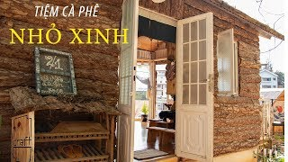 REVIEW ĐÀ LẠT -  DRAFT cafe ĐÀ LẠT    Quán Cà Phê Đẹp Ở Đà Lạt